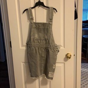 POL large overall dress